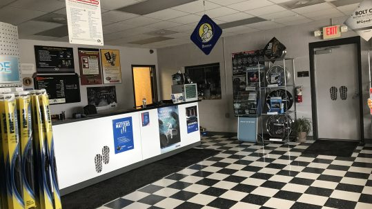 Lobby of business for sale